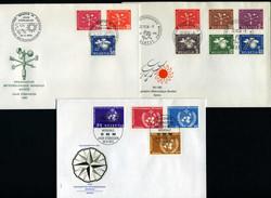 5698: Schweiz Weltorganisation für Meteorologie - Briefe Posten