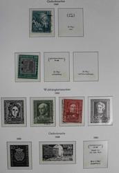 1420: Bundesrepublik Deutschland - Zubehoer: Vordruckalben