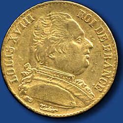 40.110.10.390: Europa - Frankreich - Königreich - Ludwig XVIII., 1814 - 1824