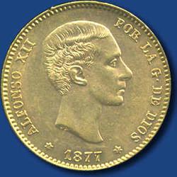 40.500.170: Europa - Spanien - Alfons XII., 1874 - 1885