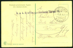 4785: Österreich Post in der Levante - Stempel