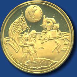 90.10.150: Thematische Medaillen - Themen - Weltraum