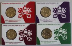 40.200.330: Europa - Italien - Vatikan - Euro Münzen