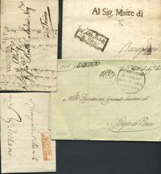 3358: Italien Vorphilatelie - Sammlungen