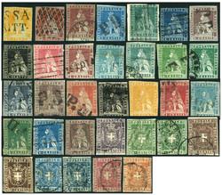 3405: Italien Staaten Toscana - Sammlungen