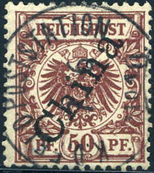 150: Deutsche Auslandspost China - Stempel