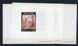 1670: Andorra Französische Post - Ministerbuecher und Sonderdrucke