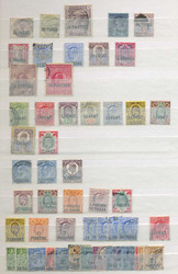 2895: Grossbritannien Britische Post in der Türkei - Sammlungen
