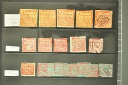 7461: Sammlungen und Posten Indien Vertragsstaaten - Sammlungen