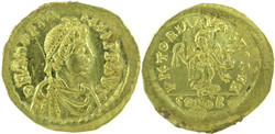 10.60.10: Ancient Coins - Byzantine Empire - Anastasius I, 491 - 518