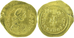 10.60.100: Ancient Coins - Byzantine Empire - Heraclius, 610 - 641