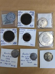 100.70.440: Multiple Lots - Coins - Sweden