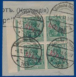390: German Occupation World War I Libau