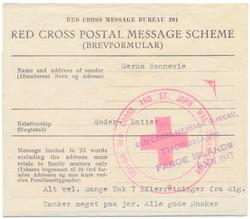 3030: Int. Organisations, Red Cross