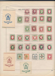 45: Old German States Heligoland - Collections
