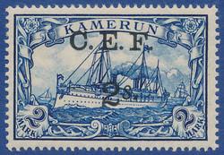 195: German Colonies, Cameroon British Occupation