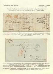 1810: Belgium - Pre-philately
