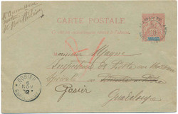 2915: Guadeloupe - Postal stationery