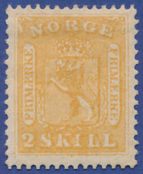 4710030: Norway Coat of Arms 1863