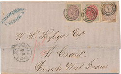 2385: Danish West Indies - Cancellations and seals