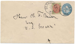 2385: Danish West Indies - Postal stationery