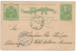 2955: Haiti - Postal stationery