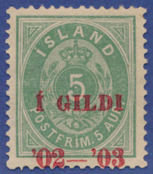 3345040: Iceland I Gildi Issue