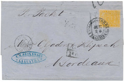 6646: Venezuela Ship Post Todd, Cameron - Private postal stamps