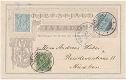 3345020: Iceland Aurar Issue - Postal stationery