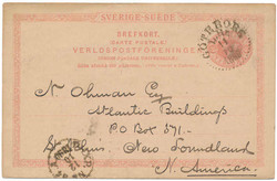 5625: Sweden - Postal stationery