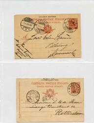 3560: Italian Eritrea - Picture postcards
