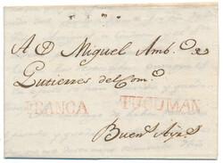 1715: Argentina - Pre-philately