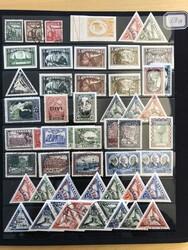 7090: Sammlungen und Posten Baltische Staaten - Lot