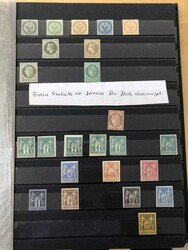 7128: Collections and Lots French Colonies - Collections