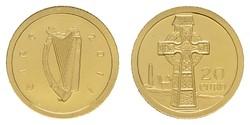 40.180.10: Europa - Irland - Euro Münzen