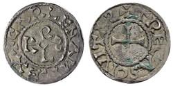 20.30.70.40: Mittelalter - Karolinger - Westfränkisches Reich - Karlmann, 879 - 887