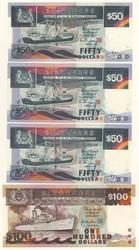 110.570: Banknoten - Asien (mit Nahem Osten)