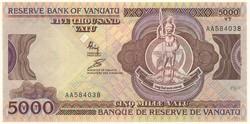 110.580.170: Banknoten - Ozeanien - Vanuatu