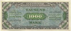 110.80.30: Banknoten - Deutschland - Alliierte Ausgaben 1944-48