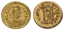10.40.60: Ancient Coins - Eastern Roman Empire - Leo I, 457 - 474