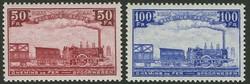 1820: Belgien Eisenbahnpaketmarken