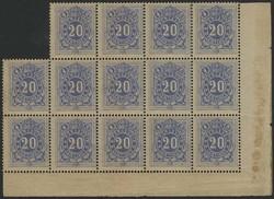 1810: Belgien - Portomarken