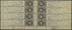 1810: Belgien - Zeitungsmarken
