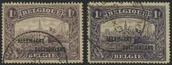 1830: Belgische Militärpost im Rheinland