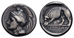 10.20.100: Ancient Coins - Greek Coins - Lucania