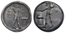10.20.110: Ancient Coins - Greek Coins - Bruttium
