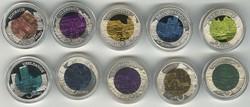 40.270.10: Europa - Luxemburg - Euro Münzen