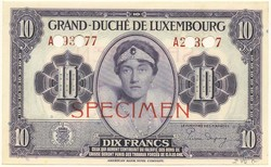 110.270: Billets - Luxembourg