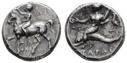 10.20.90: Antike - Griechen - Kalabrien