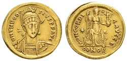 10.40.30: Ancient Coins - Eastern Roman Empire - Theodosius II, 402 - 450